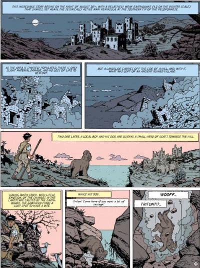 Page 1 Blake and Mortimer tome 13 (en anglais)