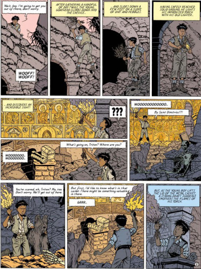 Page 2 Blake and Mortimer tome 13 (en anglais)