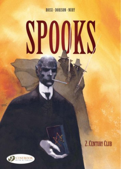 Couverture Spooks tome 2 - century club