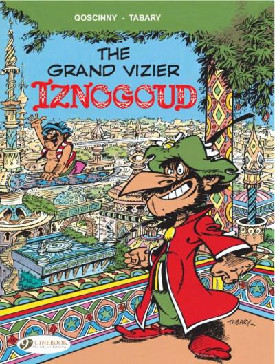 Couverture Iznogoud tome 9 - the grand vizier isnogoud - en anglais