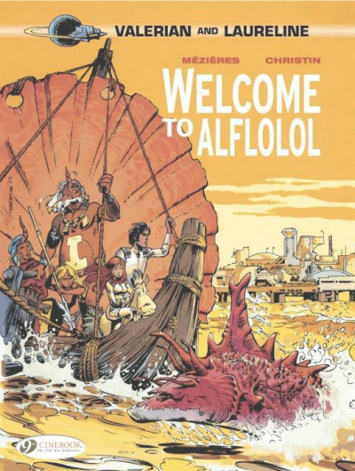 Couverture Valerian T.4 - welcome to Aflolol