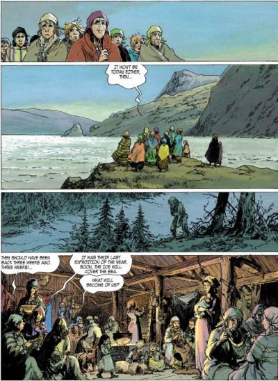 Page 1 Thorgal tome 12 (en anglais)
