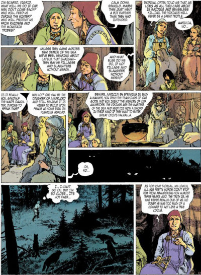 Page 2 Thorgal tome 12 (en anglais)