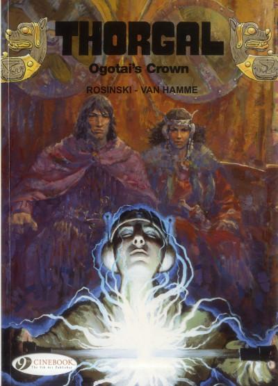 Couverture Thorgal tome 13 - Ogotai's crown (en anglais)