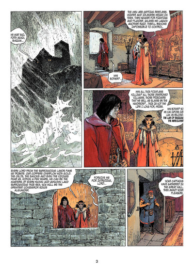 Page 2 Thorgal tome 13 - Ogotai's crown (en anglais)