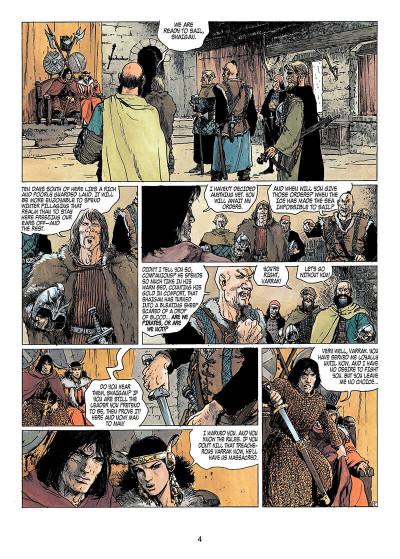 Page 3 Thorgal tome 13 - Ogotai's crown (en anglais)