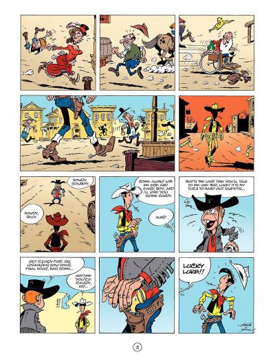 Page 2 Lucky luke tome 39 - the man from washington (en anglais)