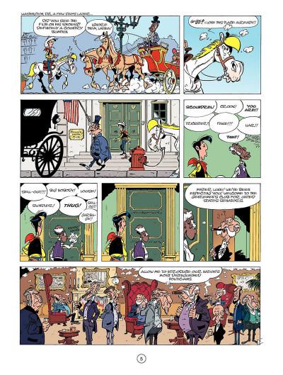 Page 4 Lucky luke tome 39 - the man from washington (en anglais)