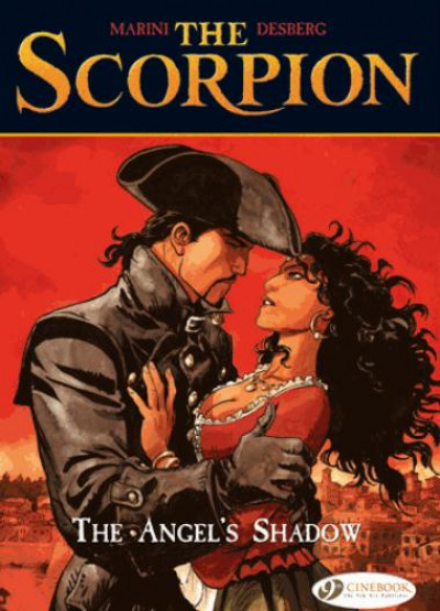 Couverture The scorpion t6 - the angel's shadow