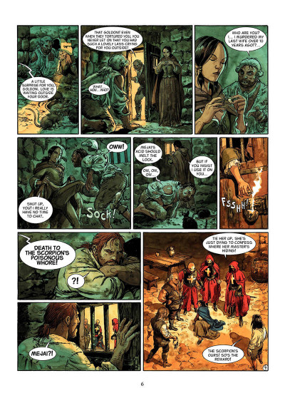 Page 5 The scorpion t6 - the angel's shadow