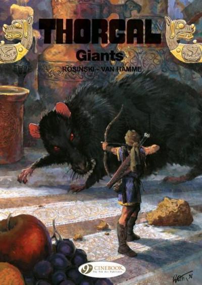 Couverture Thorgal tome 14 - giants (anglais)