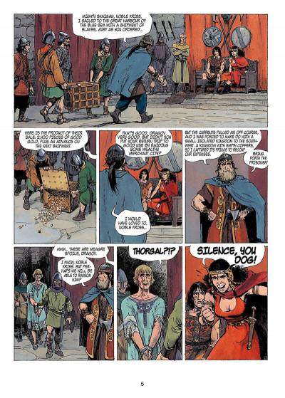 Page 4 Thorgal tome 14 - giants (anglais)