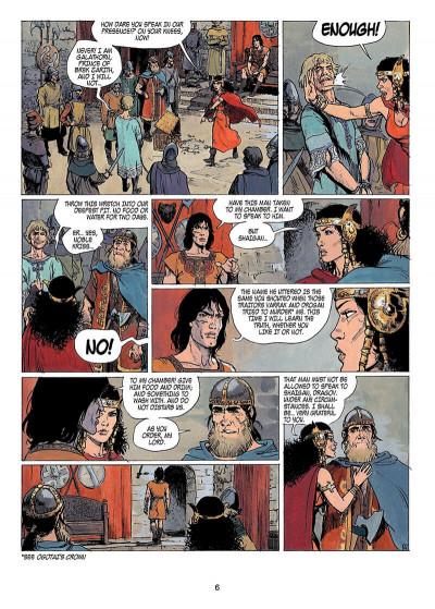 Page 5 Thorgal tome 14 - giants (anglais)