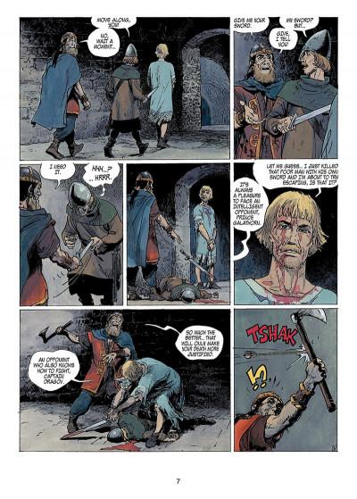 Page 6 Thorgal tome 14 - giants (anglais)