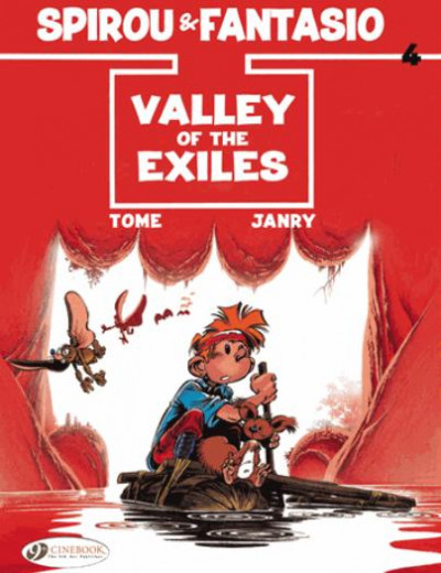 Couverture Spirou and fantasio tome 4 - valley of the exiles