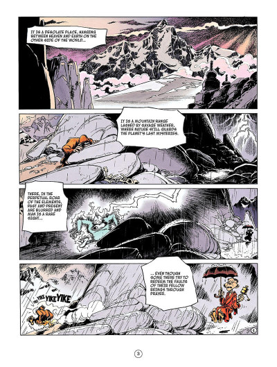 Page 2 Spirou and fantasio tome 4 - valley of the exiles