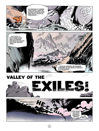 Page 3 Spirou and fantasio tome 4 - valley of the exiles