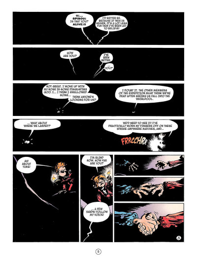 Page 4 Spirou and fantasio tome 4 - valley of the exiles
