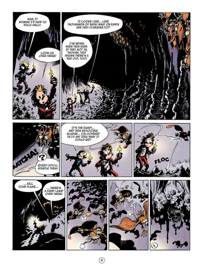 Page 5 Spirou and fantasio tome 4 - valley of the exiles