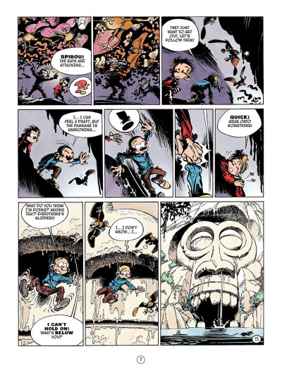 Page 6 Spirou and fantasio tome 4 - valley of the exiles