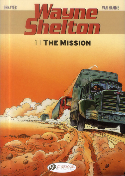 Couverture Wayne Shelton tome 1 (en anglais)