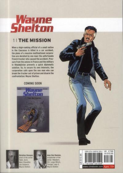 Dos Wayne Shelton tome 1 (en anglais)