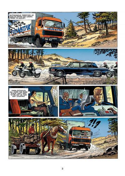Page 2 Wayne Shelton tome 1 (en anglais)