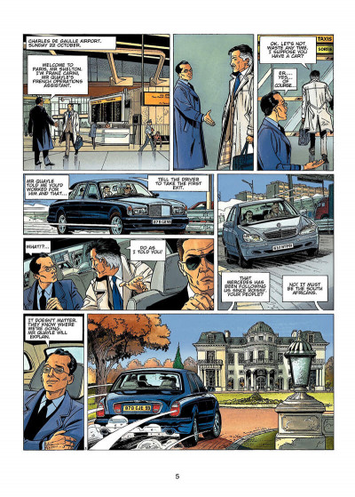 Page 4 Wayne Shelton tome 1 (en anglais)