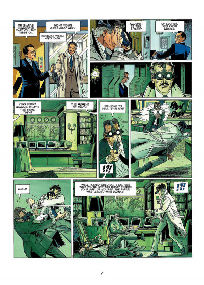 Page 6 Wayne Shelton tome 1 (en anglais)