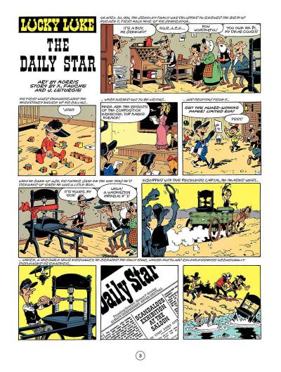 Page 2 Lucky luke tome 41 (en anglais)