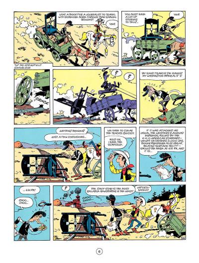 Page 5 Lucky luke tome 41 (en anglais)