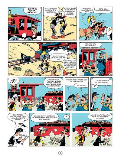 Page 6 Lucky luke tome 41 (en anglais)