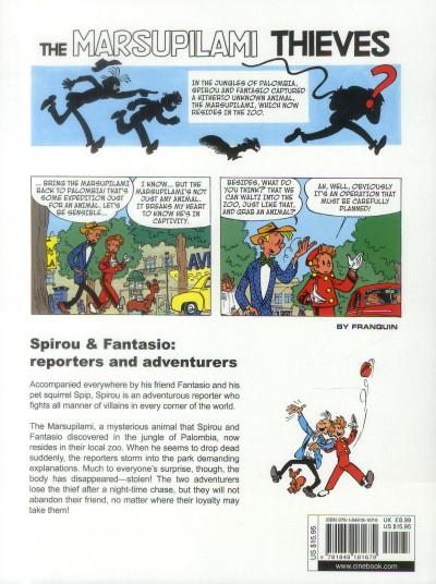 Dos Spirou and Fantasio tome 5 - the Marsupilami thieves
