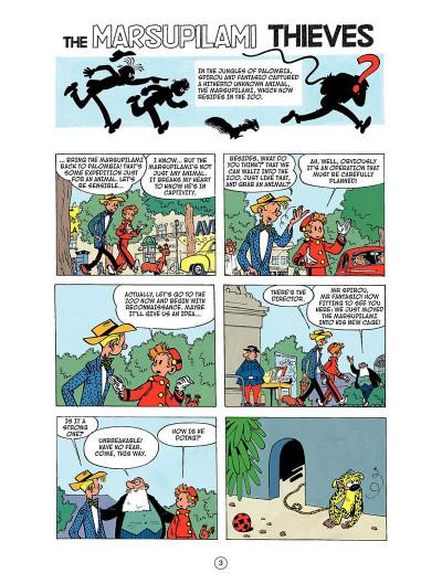 Page 2 Spirou and Fantasio tome 5 - the Marsupilami thieves