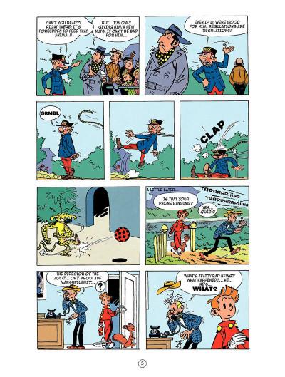 Page 4 Spirou and Fantasio tome 5 - the Marsupilami thieves