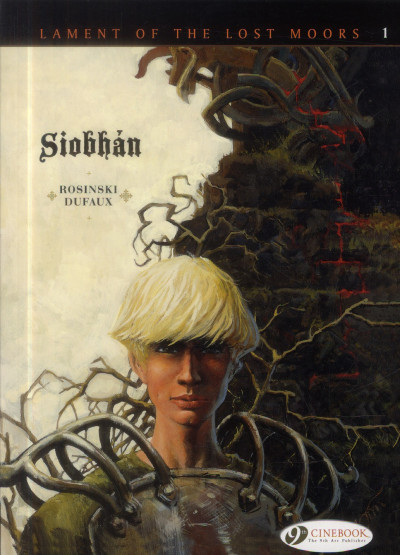 Couverture Lament of the lost moors tome 1 - Siobhan