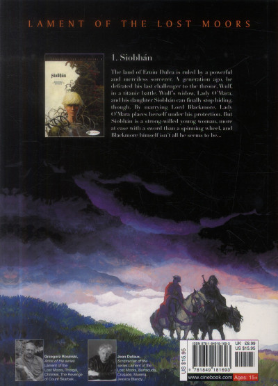 Dos Lament of the lost moors tome 1 - Siobhan