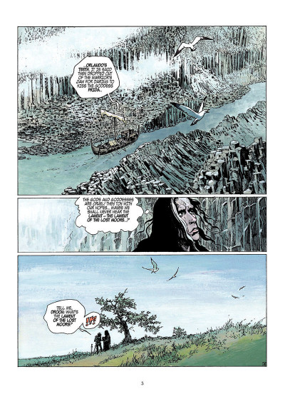 Page 4 Lament of the lost moors tome 1 - Siobhan