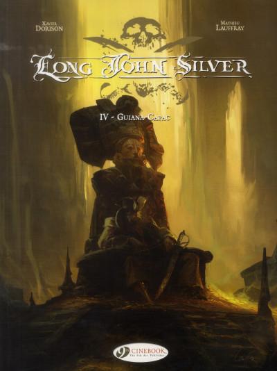 image de Long John Silver tome 4 - Guina-Capac (en anglais)