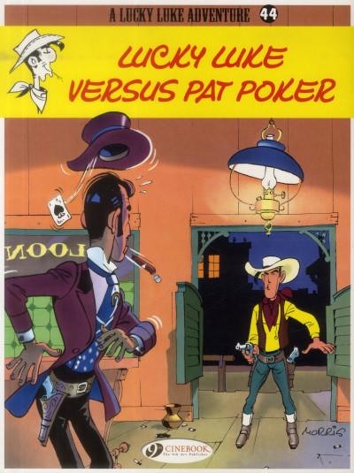 Couverture Lucky Luke tome 44 - Lucky Luke versus Pat Poker