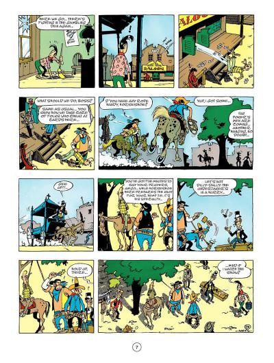 Page 6 Lucky Luke tome 44 - Lucky Luke versus Pat Poker