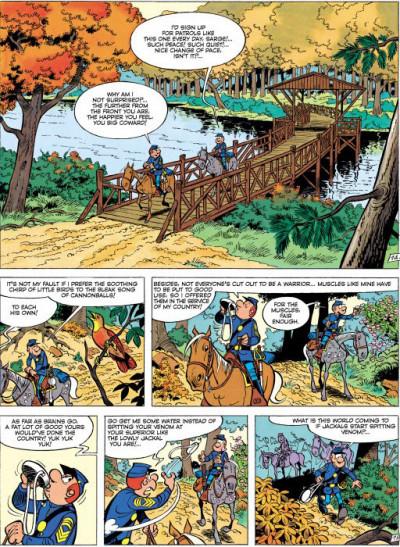 Page 1 The bluecoats tome 7 (en anglais)