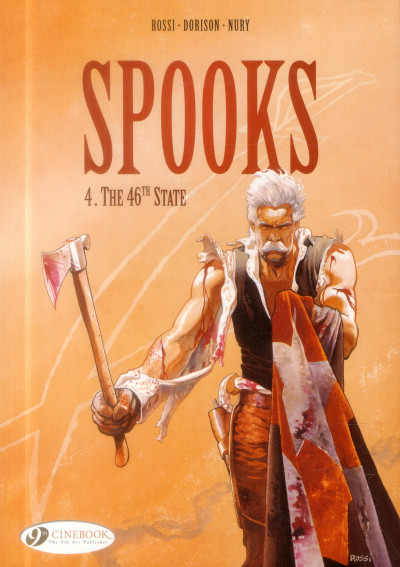 image de Spooks tome 4 - the 46th state (anglais)