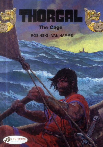 Couverture Thorgal tome 15 - the cage