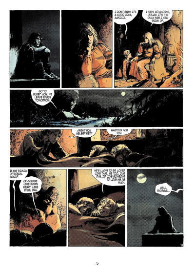 Page 4 Thorgal tome 15 - the cage