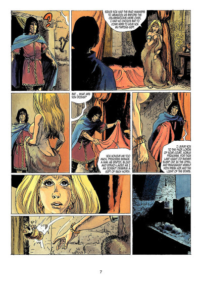 Page 6 Thorgal tome 15 - the cage