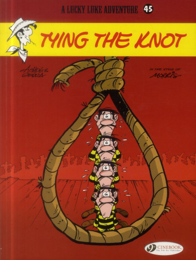 Couverture Lucky Luke T.45 - tying the knot
