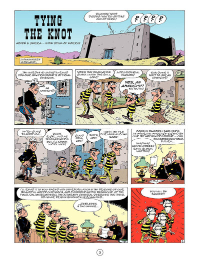 Page 2 Lucky Luke T.45 - tying the knot