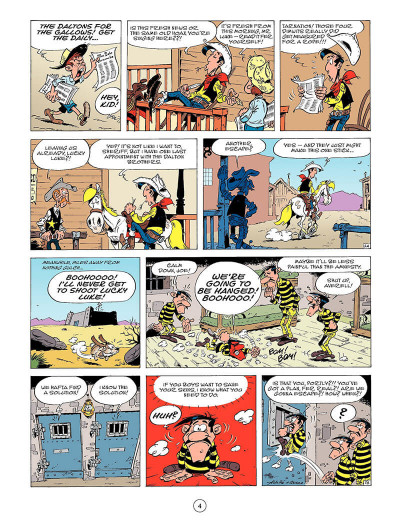 Page 3 Lucky Luke T.45 - tying the knot