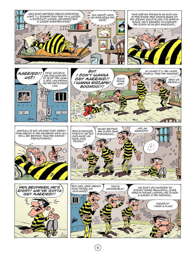 Page 4 Lucky Luke T.45 - tying the knot